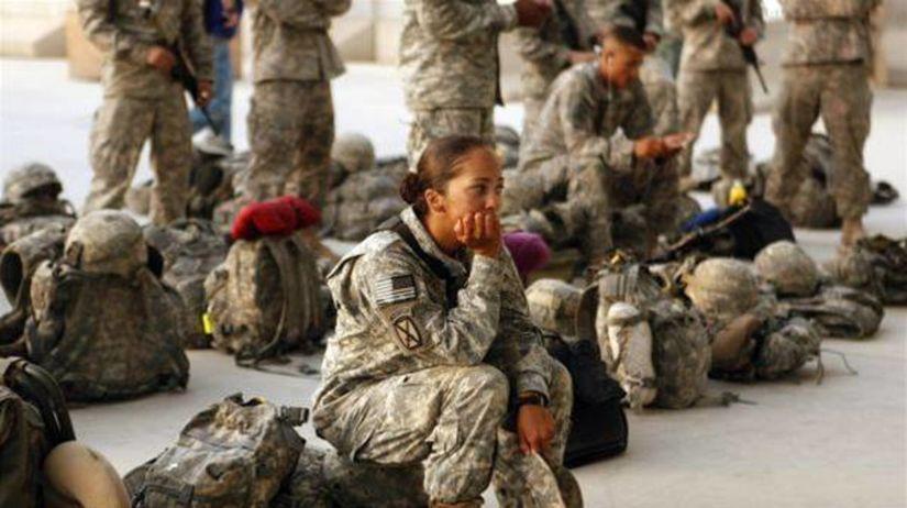 Irak, vojak, americkí vojaci