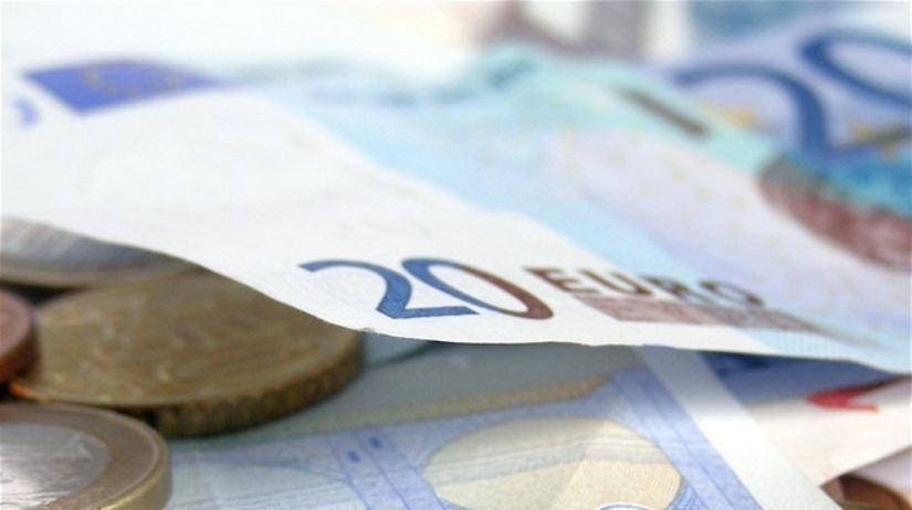 euro, bankovky, mince, peniaze
