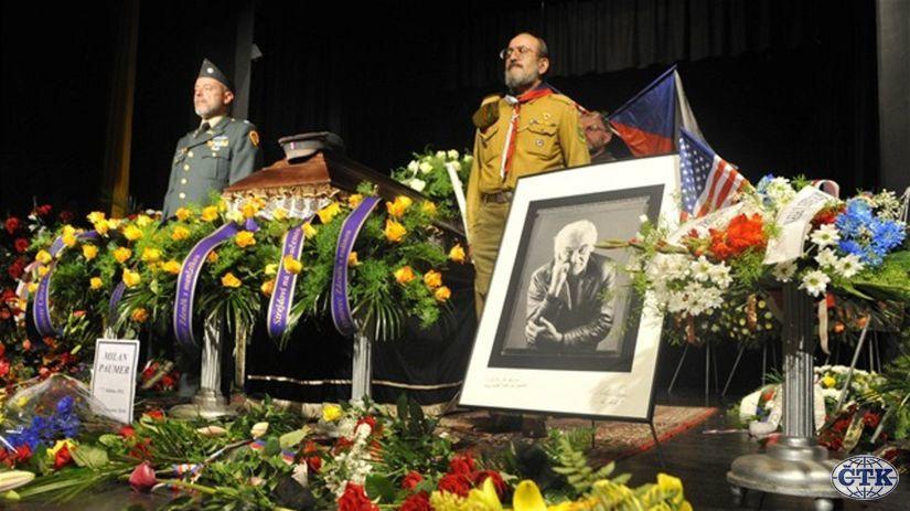 Milan Paumer, Mašínovci, Česko, pohreb