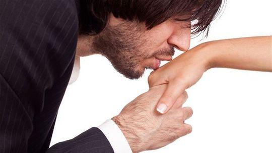 etiketa, správanie, slušnosť, úcta, bozk, ruka, muž, žena, zoznámenie, stretnutie