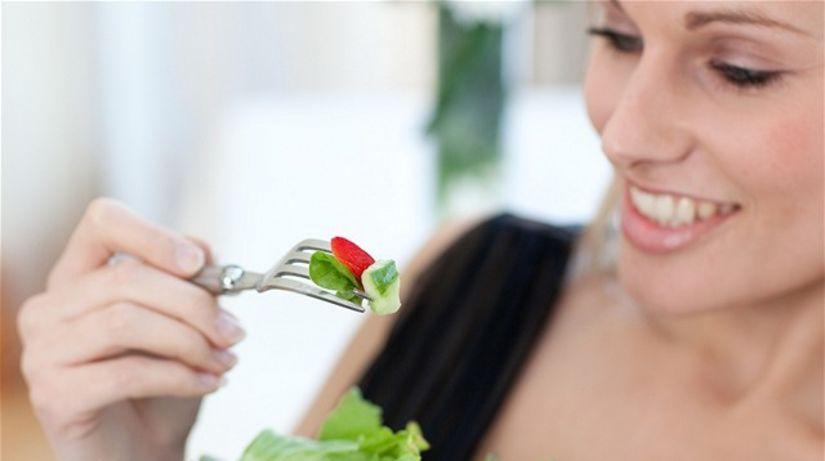 listová zelenina - jedlo - zdravá strava