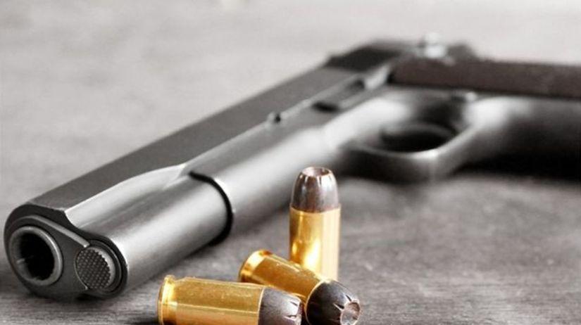 zbraň, pištoľ, vražda, lupič