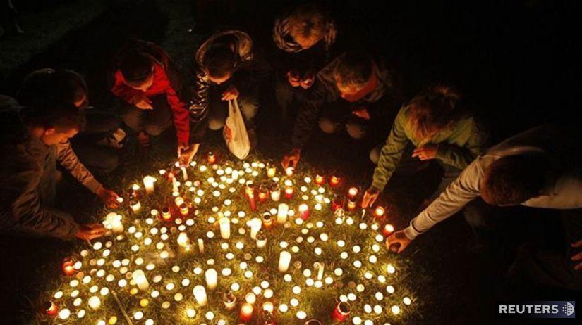Streľba, Devínska Nová Ves, sviečky