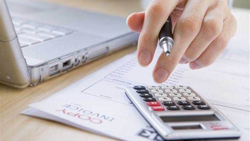 dane, kalkulačka, vyúčtovanie, účet, odvody,...