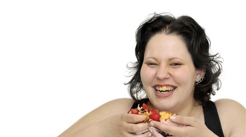 obezita - prejedanie sa - metabolický syndróm