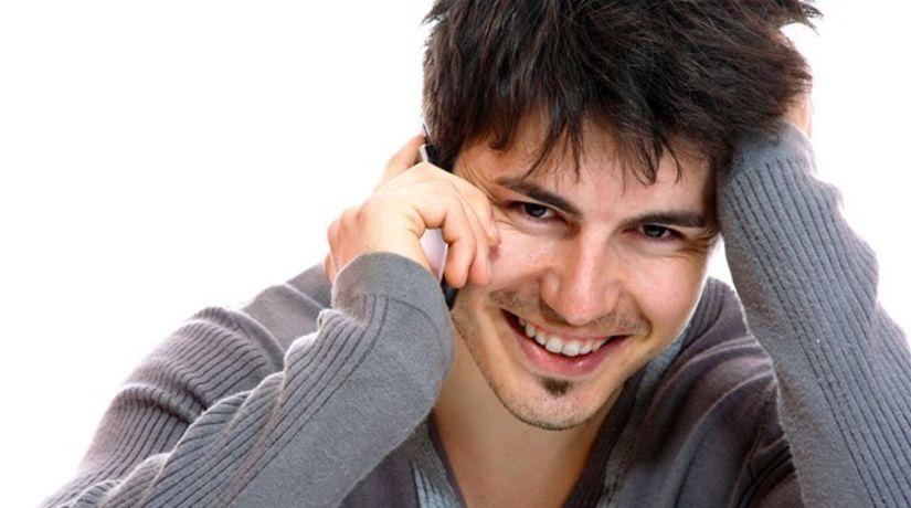 telefonovanie - úsmev - energia - žiarenie -...