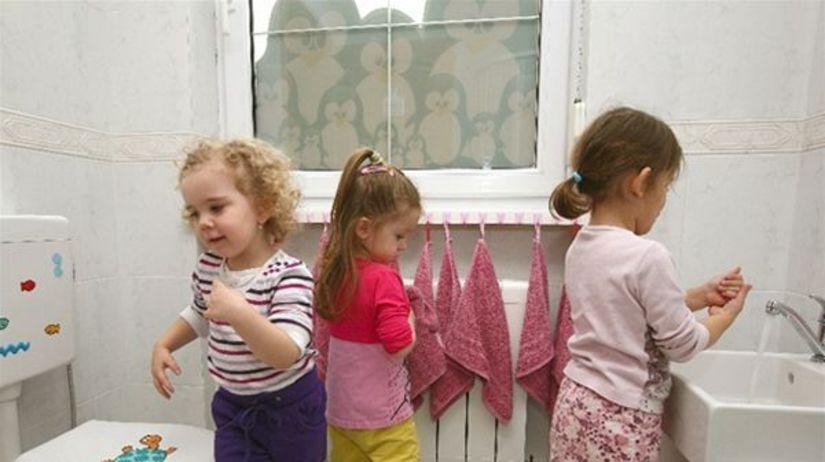deti, škôlka, zdravie, hygiena, WC, kúpeľňa,...