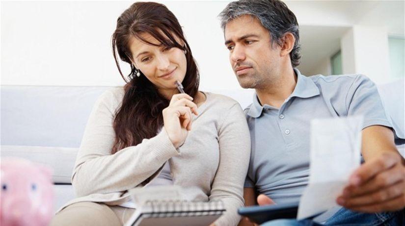 výdavky, peniaze, účty, nájomné, dane, hypotéka