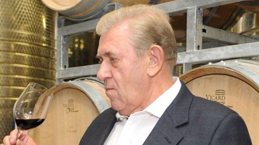 Šéf spoločnosti Villa Vino Rača Ján Krampl.