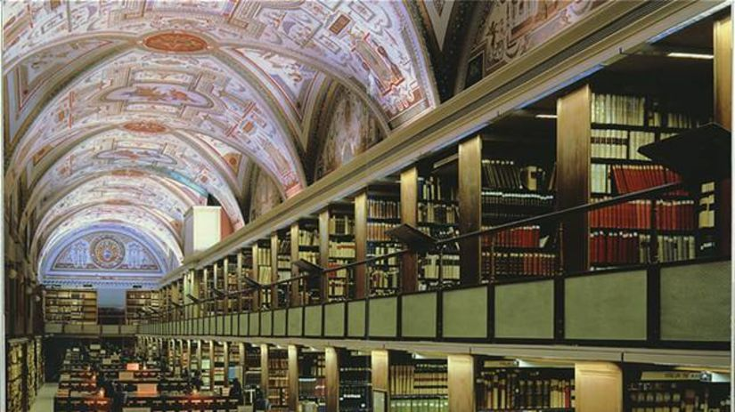 Vatikán, knižnica