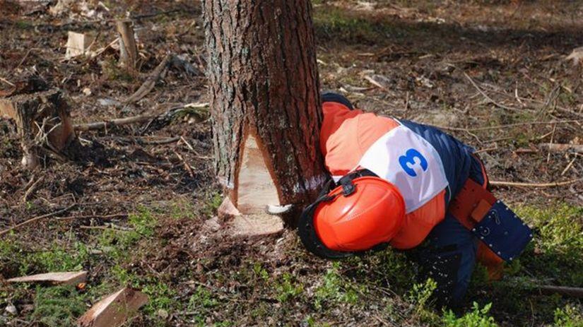 lesník, drevorubač