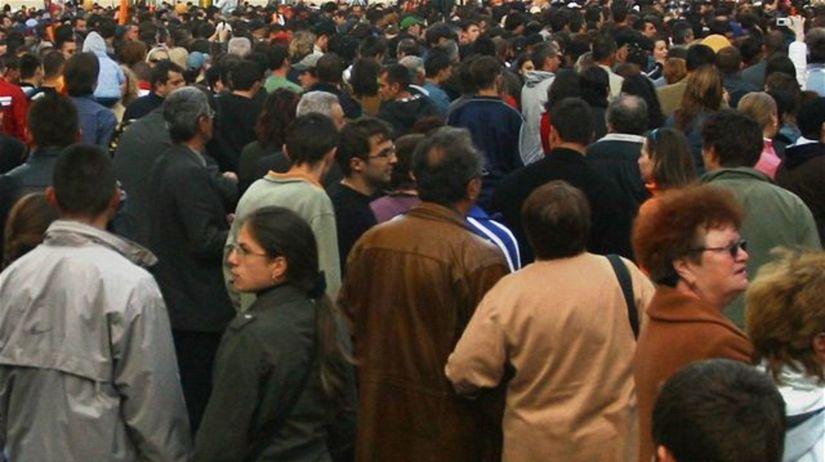 ľudia, protest, demonštrácia