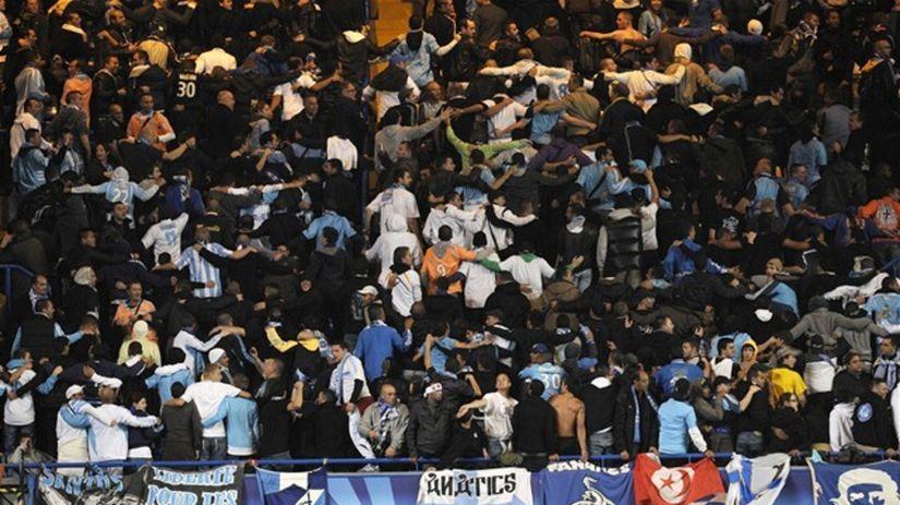 Marseille fanúšikovia