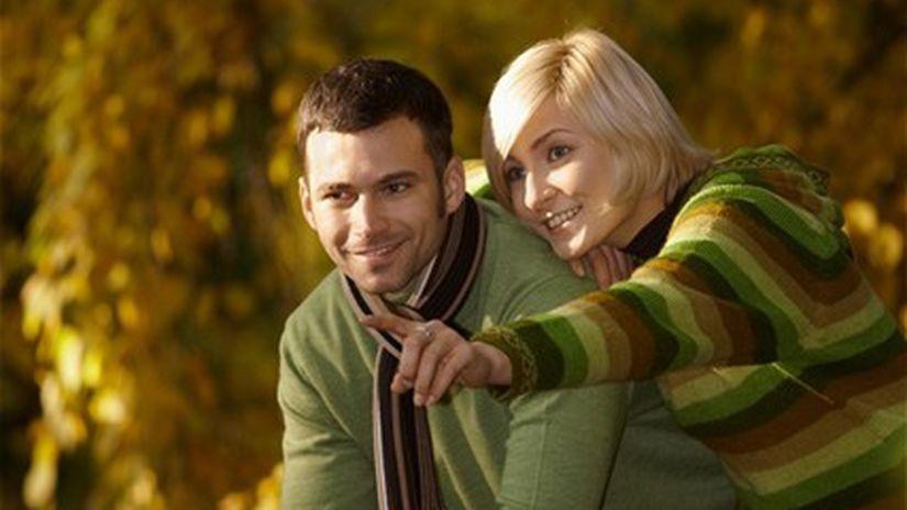 jeseň - prechádzka - partneri - romantika - nálada