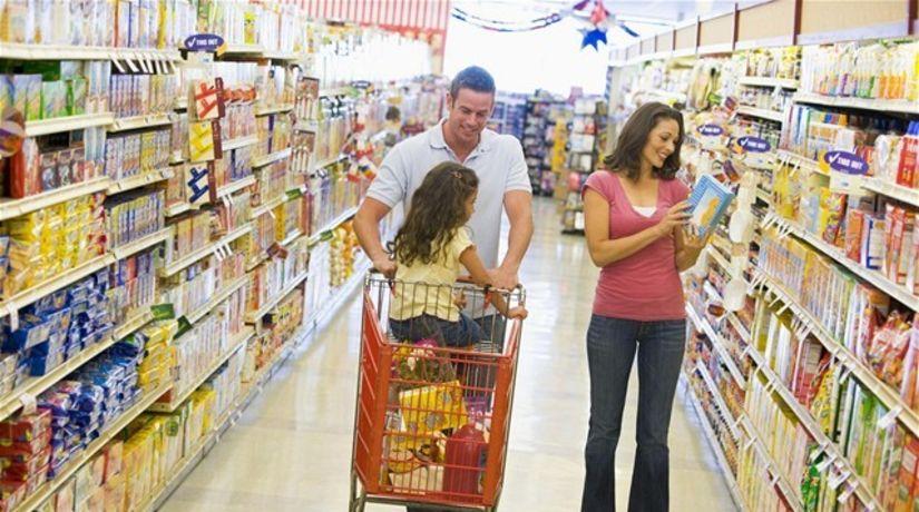 nákup, supermarket, hypermarket, obchod,...