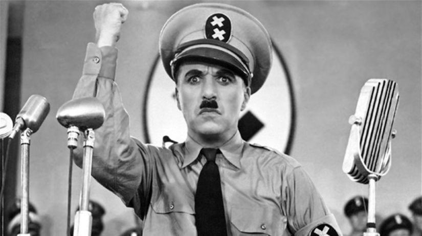 Chaplin ako diktátor