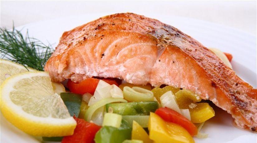 ryba, ryby, losos, obed, jedlo, večera