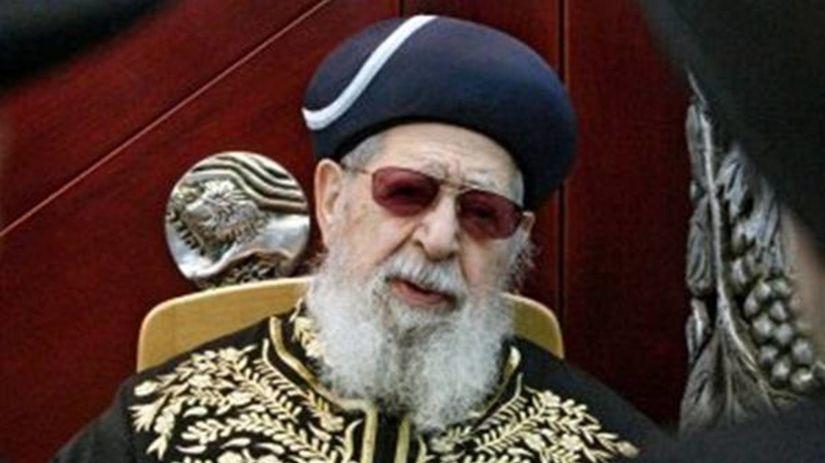 rabín Ovadia Jozef
