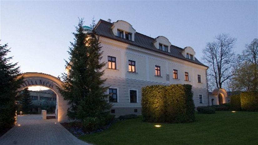 Vila Nečas v Žiline vznikla okolo roku 1722....