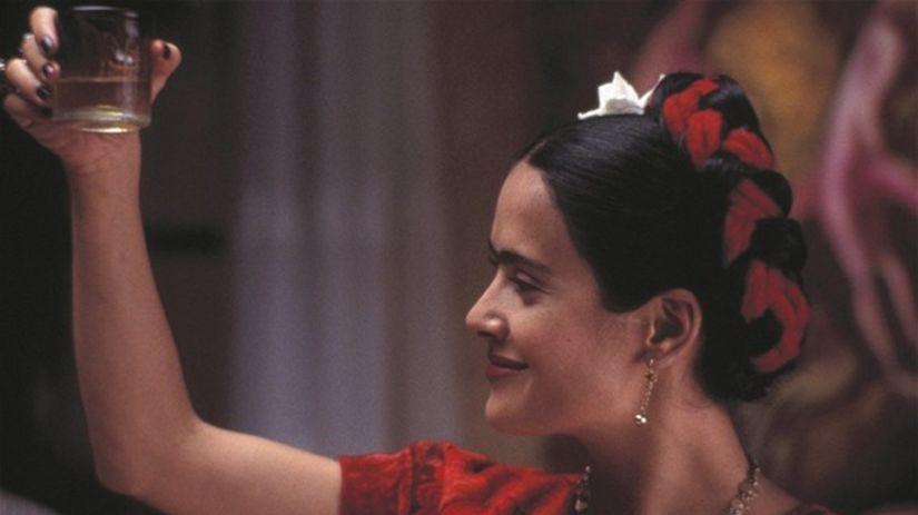 Salma Hayek ako Frida Kahlo.