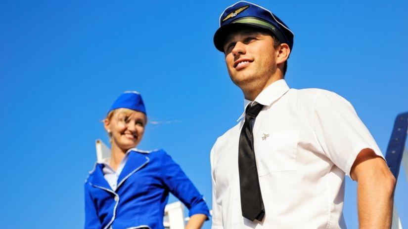 letuška, pilot, lietadlo, lietanie,