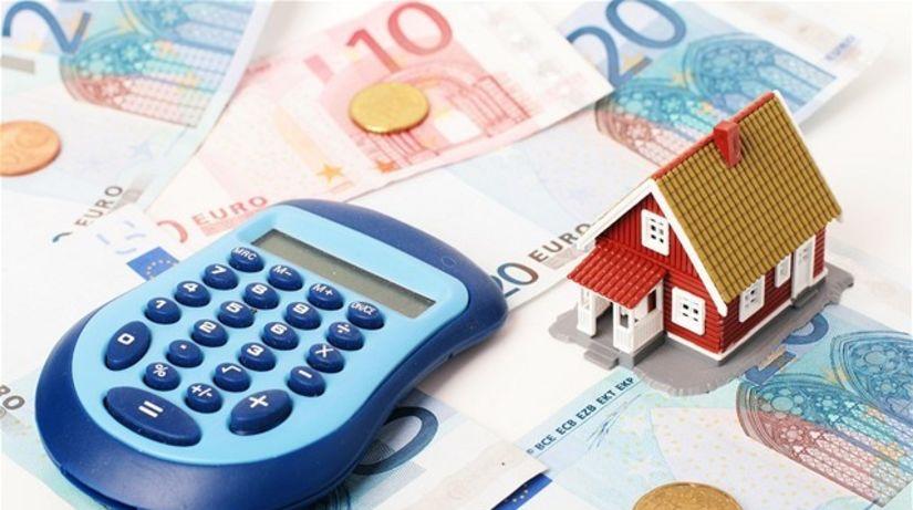 hypotéka, stavebné sporenie, úver, nehnuteľnosť