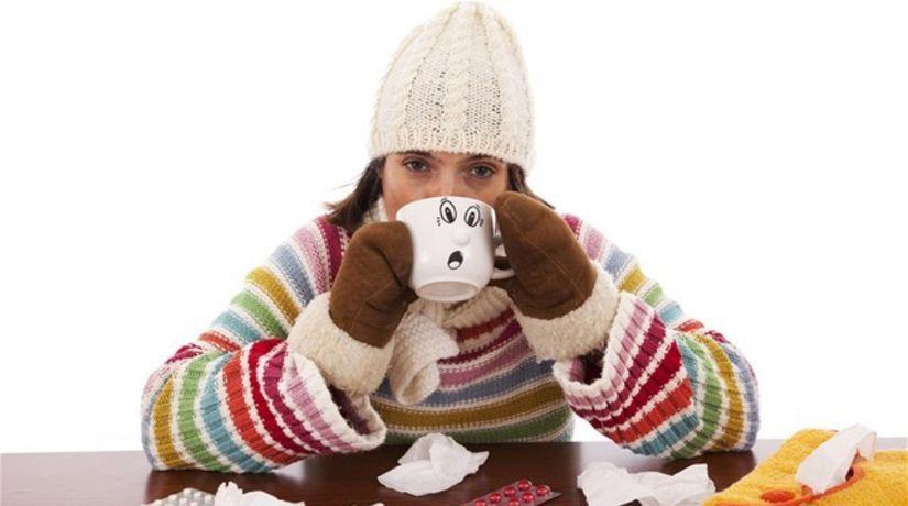 chrípka, teplota, nádcha, choroba, prechladnutie