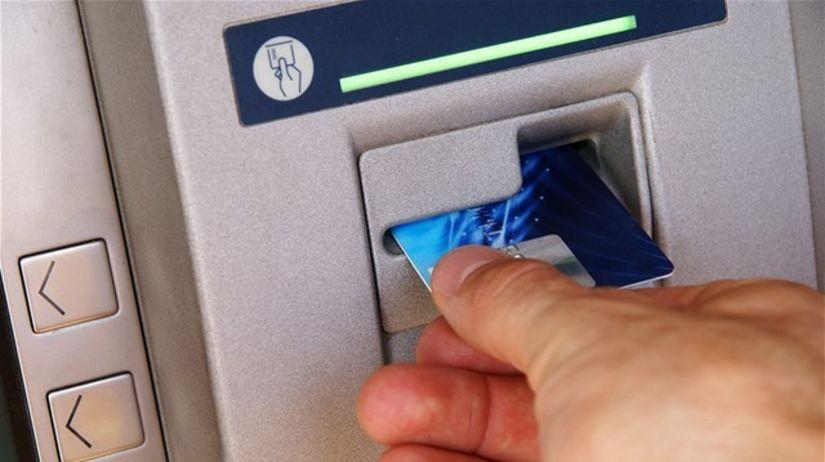 bankomat, karta, kreditka, kreditná karta