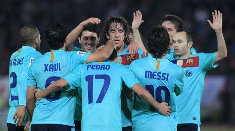 futbal Barcelona
