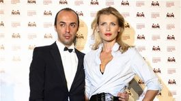 Daniela Peštová a Francesco Scognamiglio