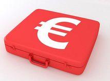 Euro, kufrík, ekonomika, euroval