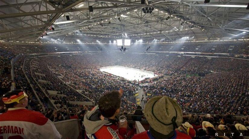hokej štadión ilustračná