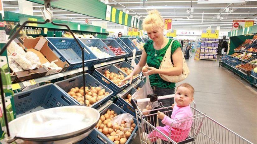 nákupy, nákup, obchod, potraviny, zelenina,...