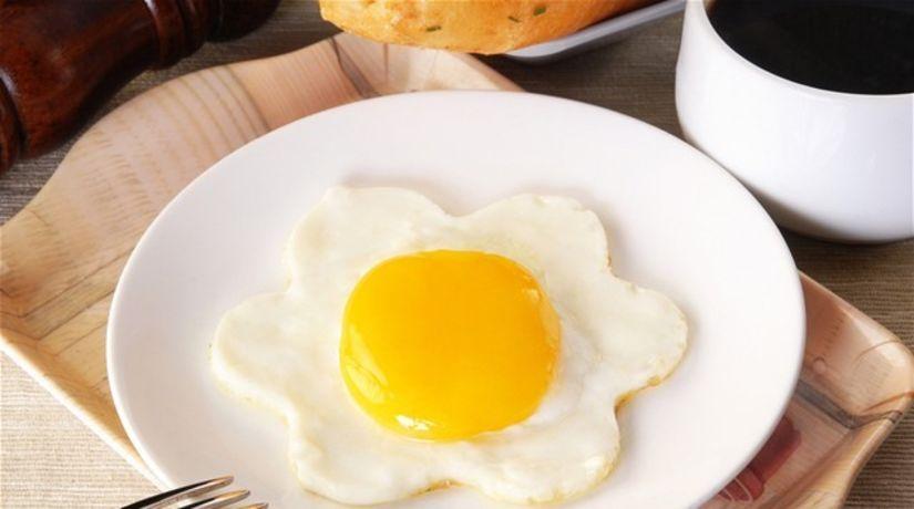 volské oko - cholesterol - veselé raňajky.