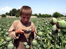 drogy, heroín, dieťa, Afganistan