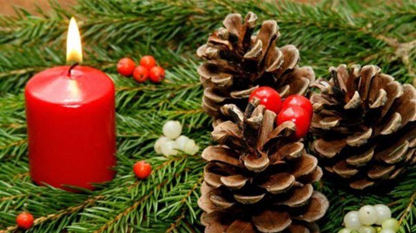 vianoce, sviečka