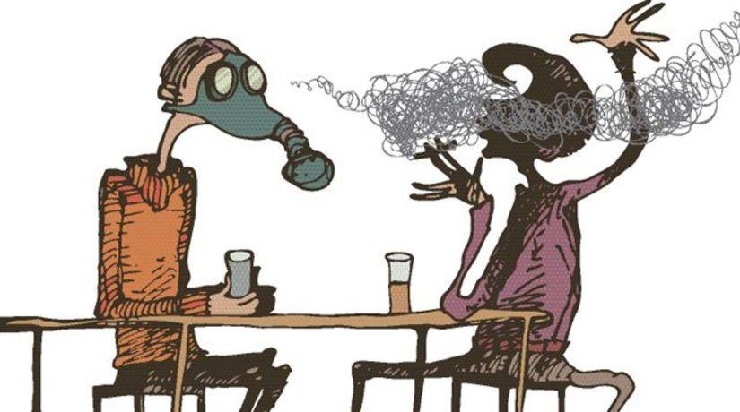 fajčenie - pasívne fajčenie - škodliviny - choroby