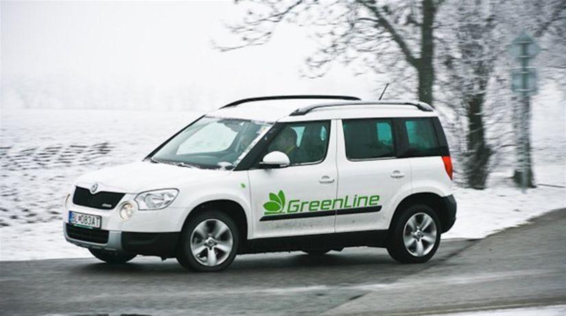 Škoda Yeti 1.6 TDI Greenline