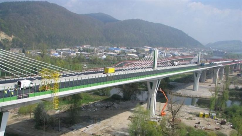 diaľnica, most, považská bystrica