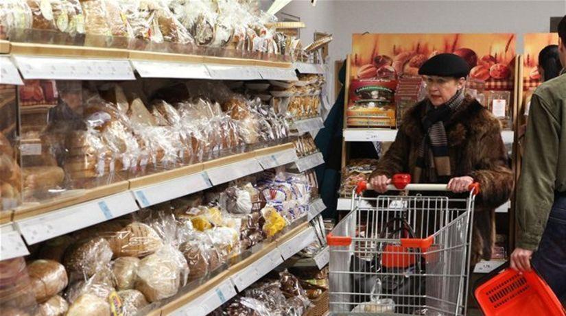 nákup, potraviny, chlieb, supermarket,...