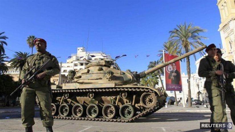 Tunisko, demonštrácie