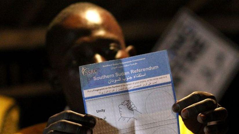 Sudán, referendum