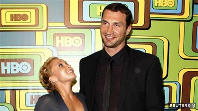 Hayden Panettiere a Vladimir Kličko