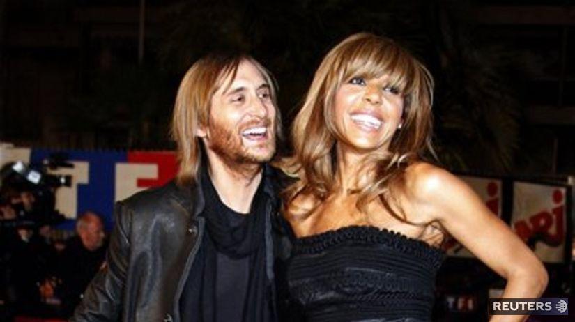 David Guetta a Cathy Guetta