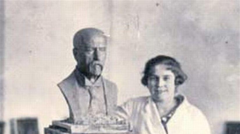 Masaryk, socha, sochárka