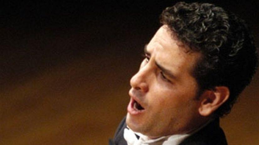 Belcantový tenorista Juan Diego Flórez.