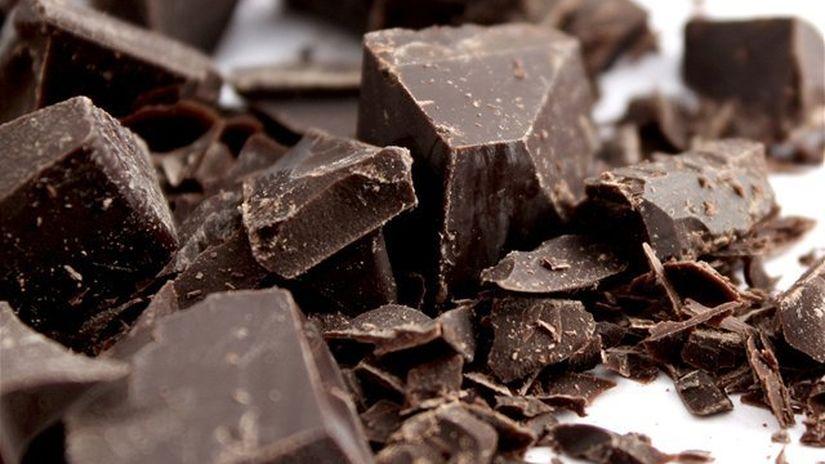 tmavá čokoláda - antioxidanty