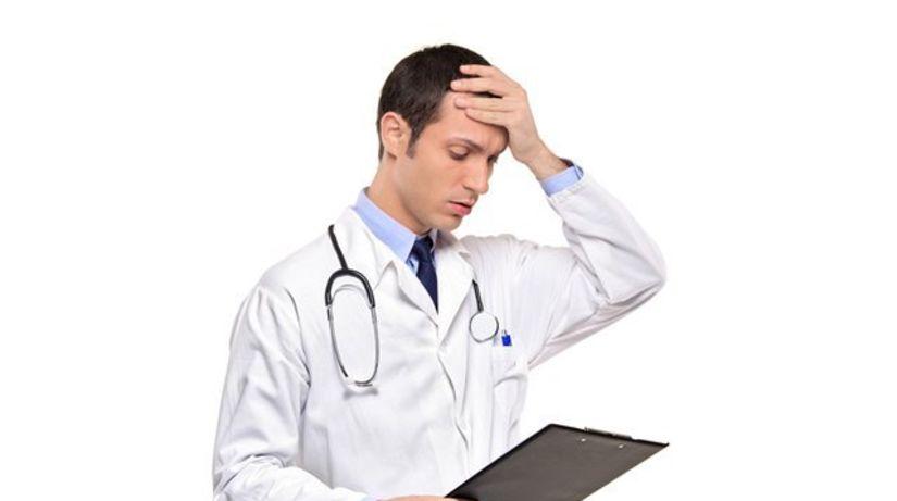 lekár - pochybenie - zlá diagnóza
