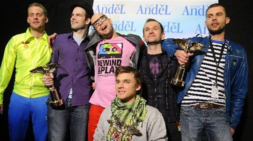 Skupina Nightwork získala 3 ceny Anděl