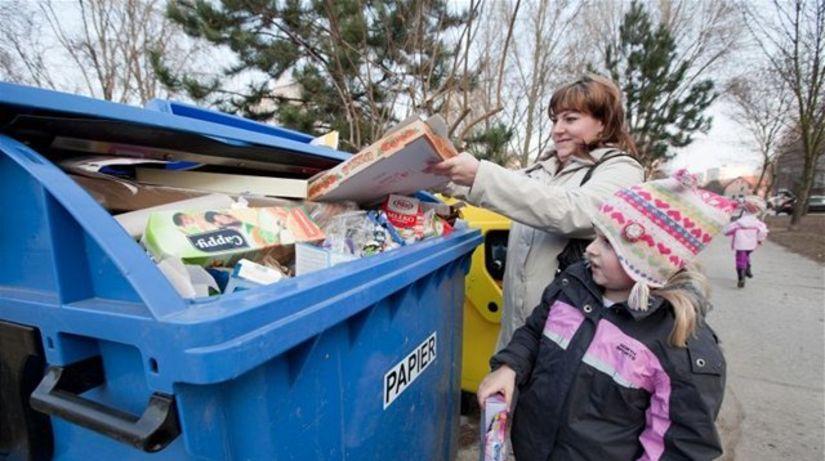 odpad, kontajnér, odpadky, zber